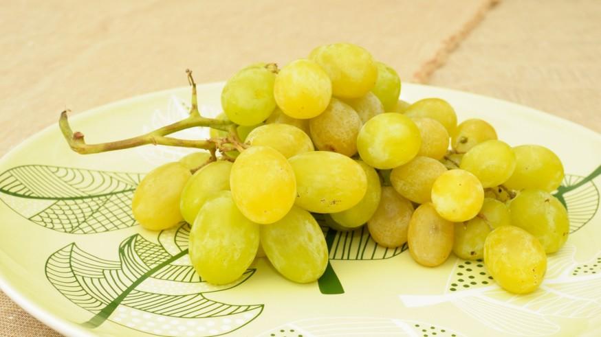 En casa. Solomillo con uvas