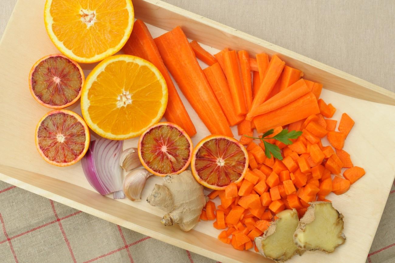 En casa. Crema zanahoria