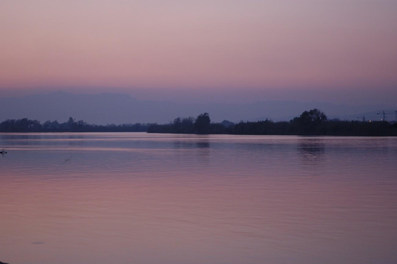 Delta del Ebro. Paso del trasbordador