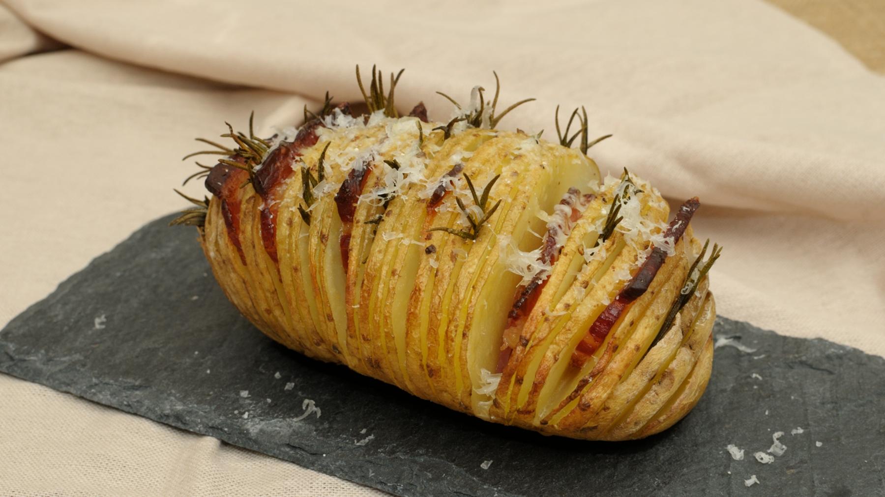 En casa. Patatas