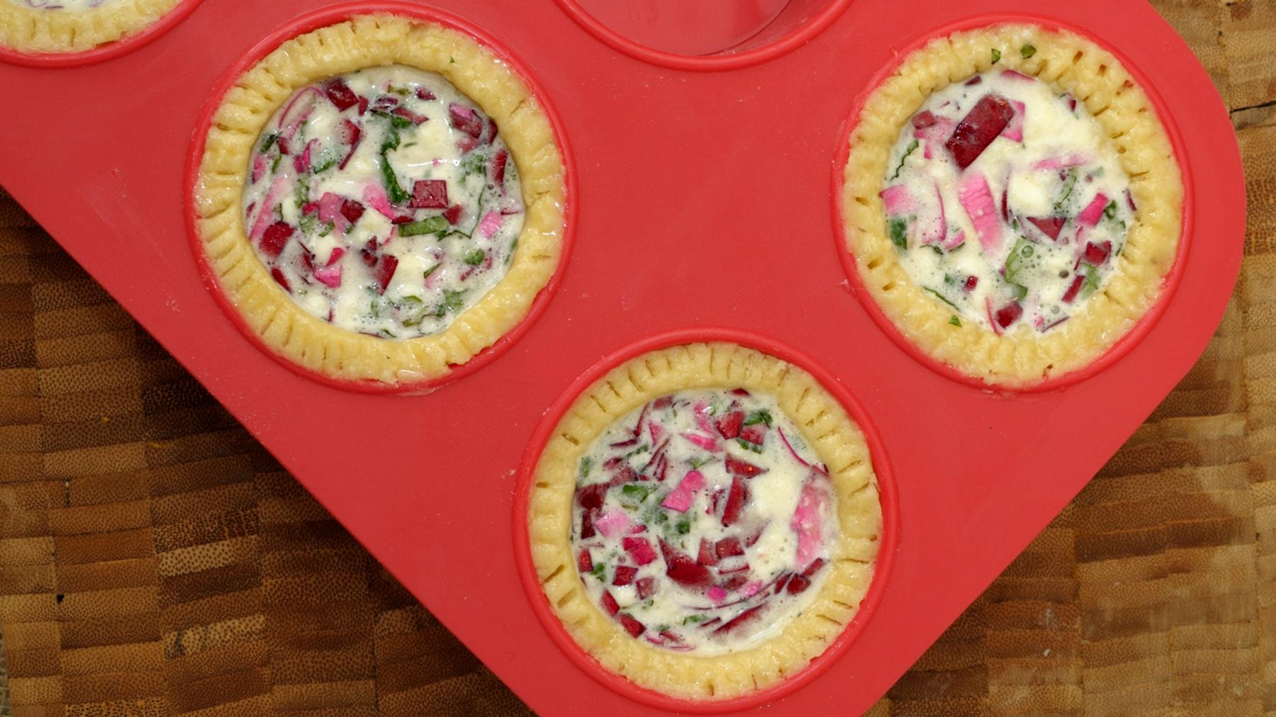 Tartaletas de rosas
