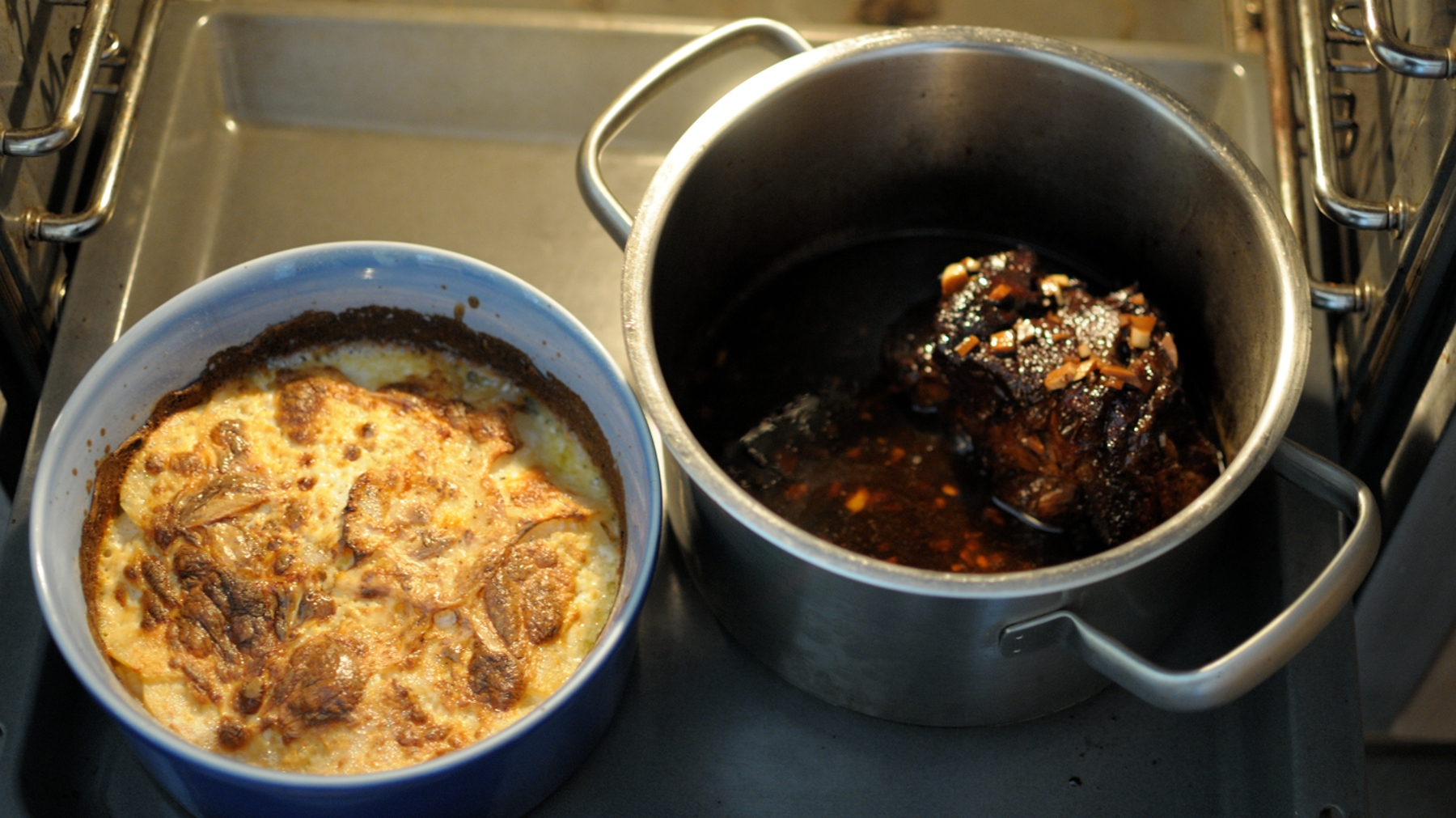 En casa. Roast Beef