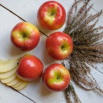 En casa. Tarta de manzana