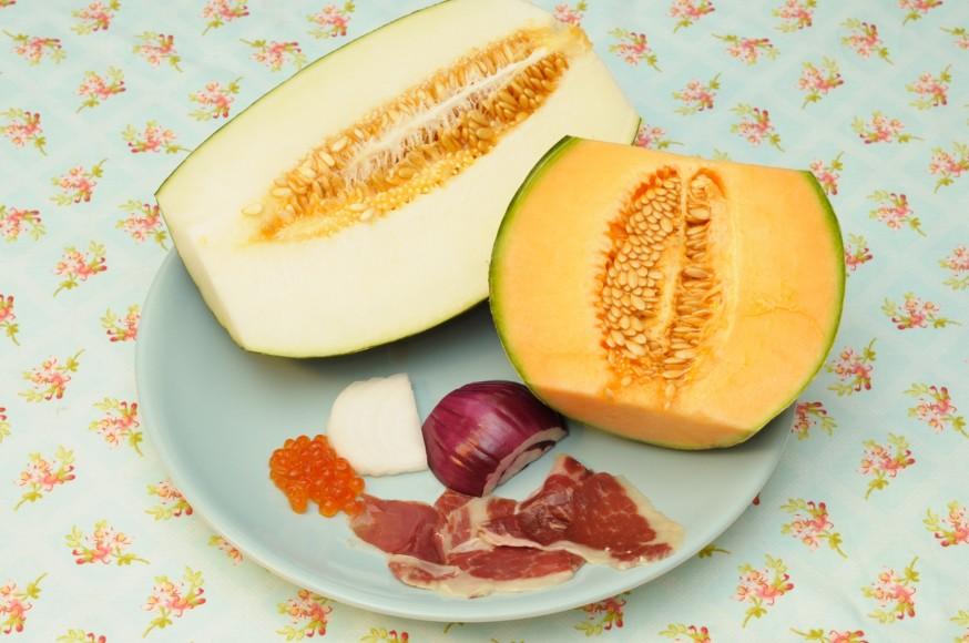 En casa. Sopa de melon