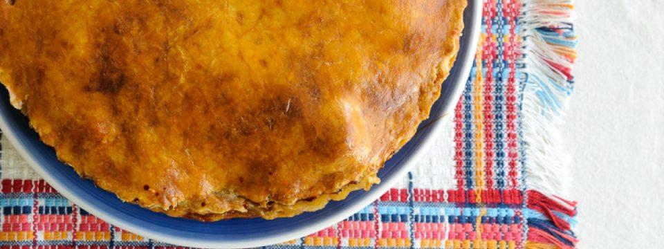 tarta de salchichas