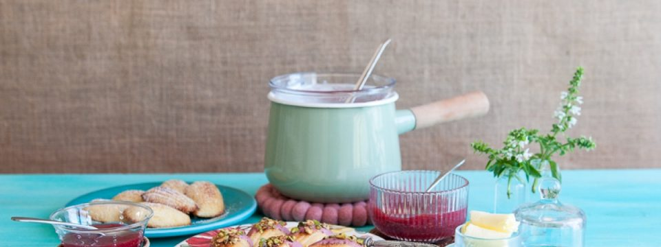 madeleines con pistachos